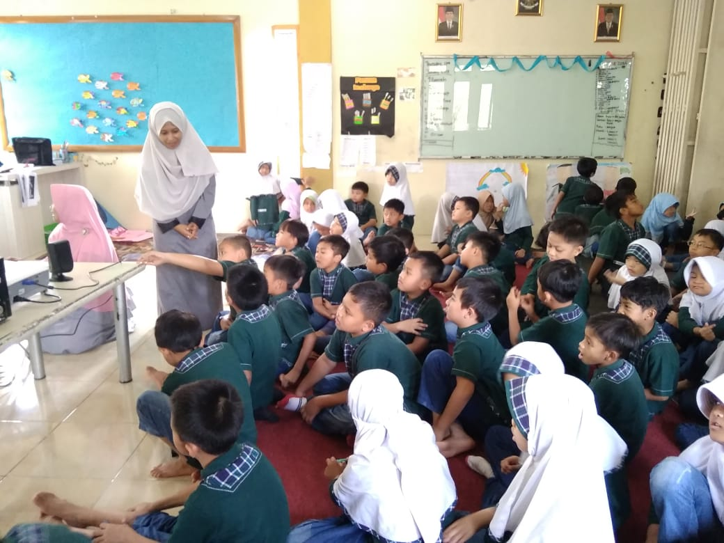 Kelas Fabel SD Tunas Unggul Global Interactive School