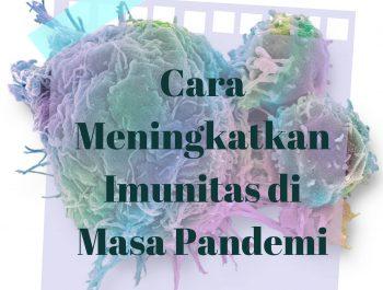 Cara Meningkatkan Imunitas di Masa Pandemi
