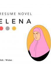 Resume Novel Elena karya Elly Ningsih