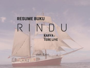 "Resume Novel ""Rindu"" Tere Liye"