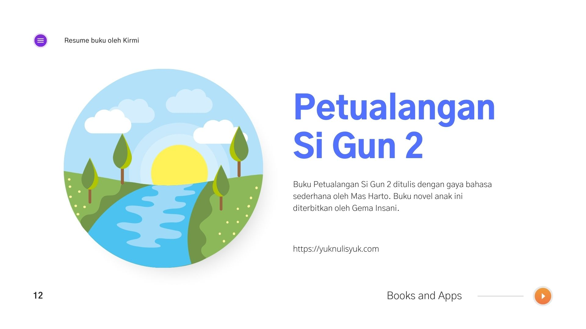 Resume Buku Petualangan Si Gun 2