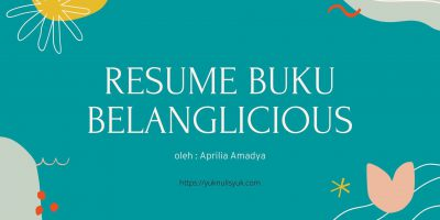 Resume Buku Belanglicious